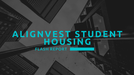 Alignvest Student Housing – Flash Report #4